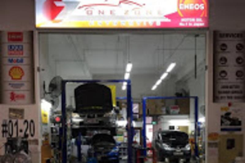 One zone automotive