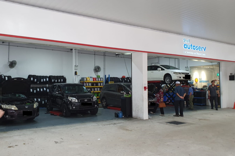 Shell Autoserv Tampines