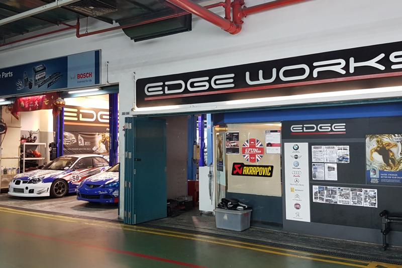 Full panel w track car