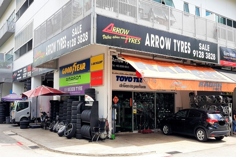 Arrow Tyres (Serangoon)