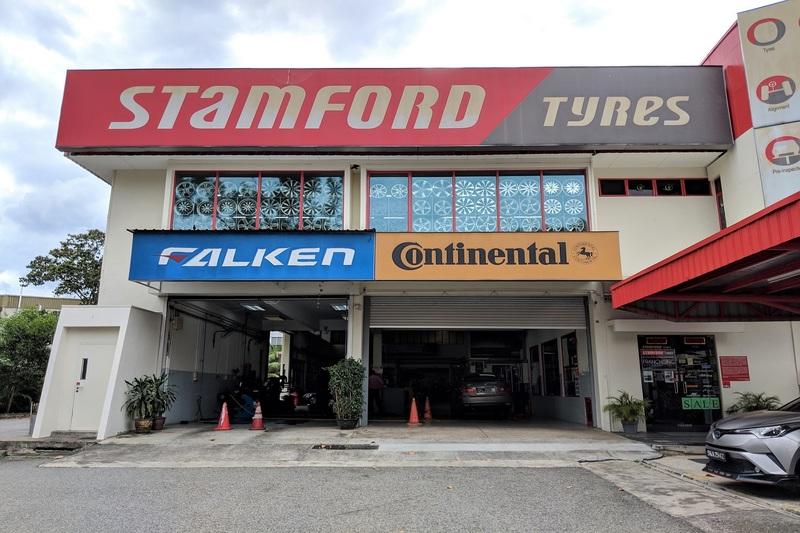 Stamford Tyres (Changi Mega Mart)