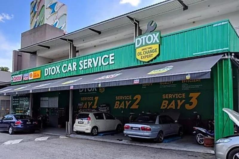 DTOX Car Service (Wangsa Walk)