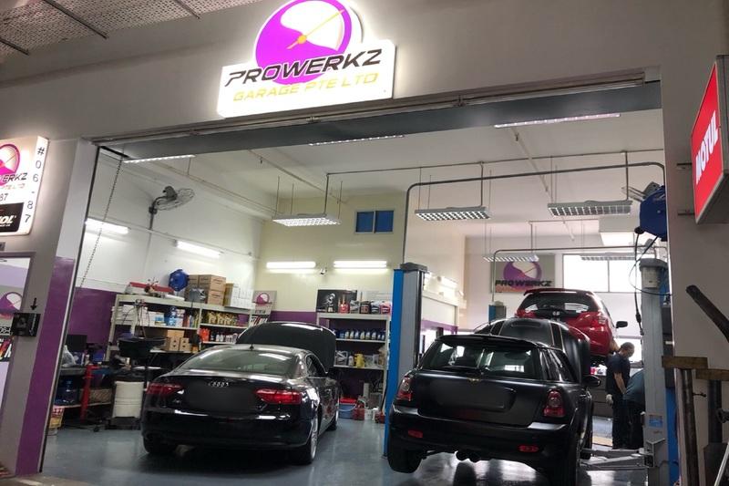 Prowerkz garage