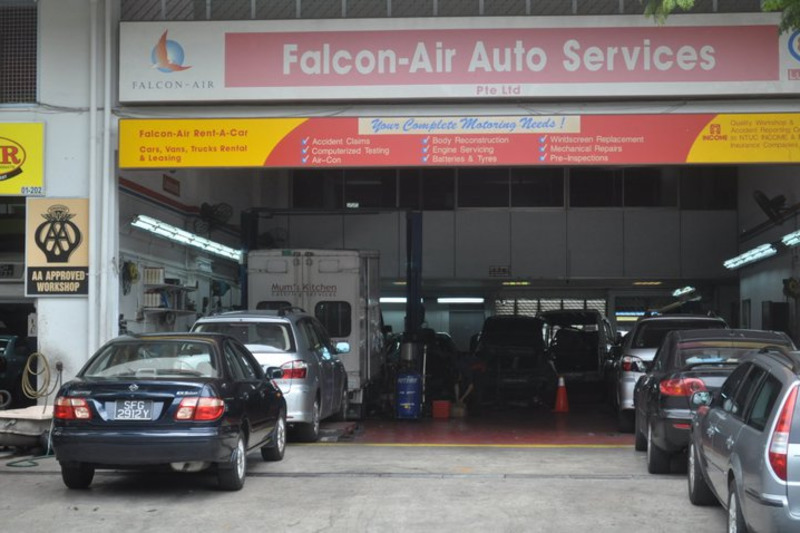 Falcon-Air Auto Services (Tampines)