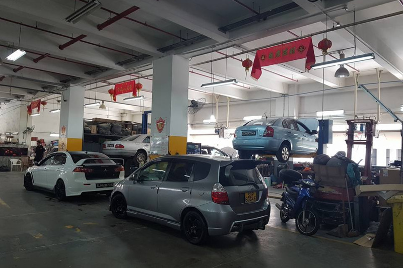 M-Garage (East)