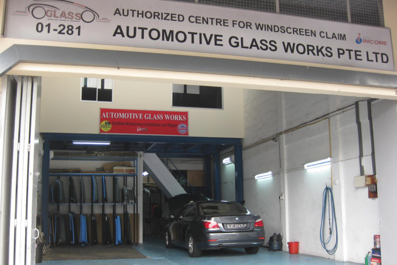 Automotive glassworks