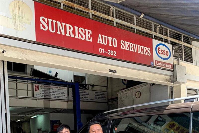 Sunrise auto