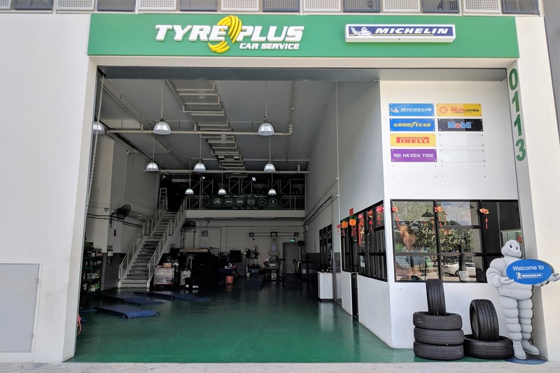 Tyreplus  woodlands