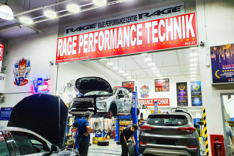 Rage Performance Technik