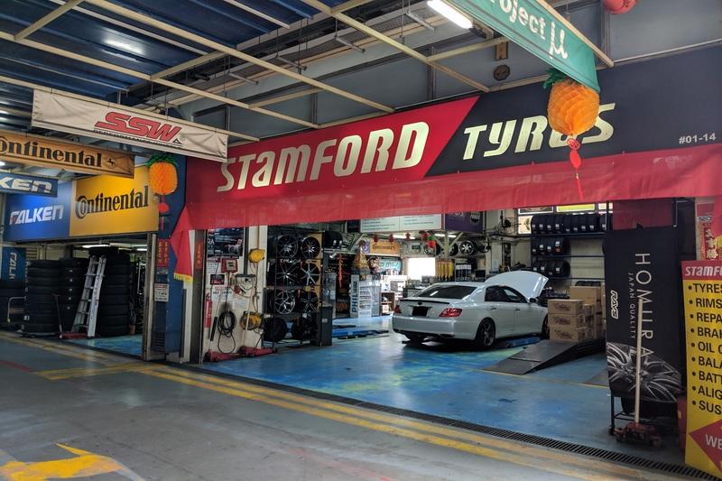 Stamford tyres  amk