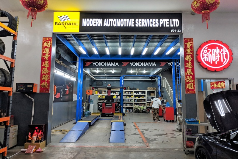 Modern Automotive Services
