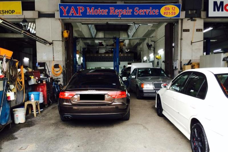 Yap motor repair
