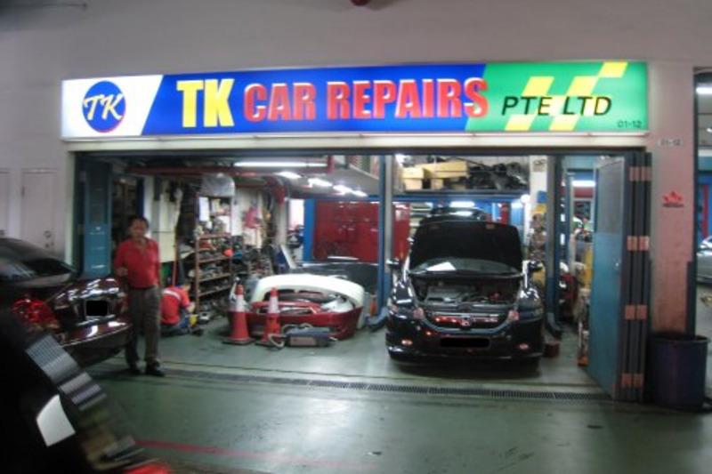 Tk car repairs