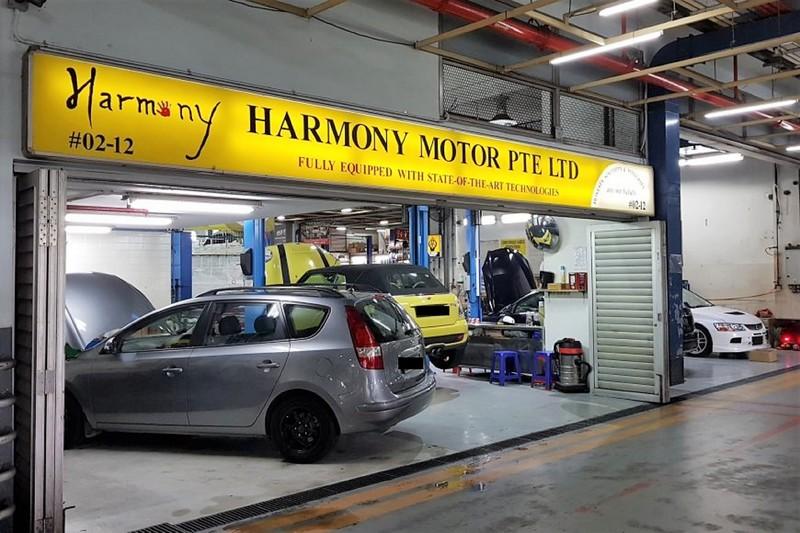 Harmony motor