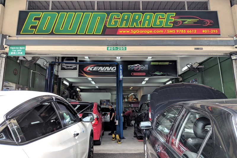 Edwin garage