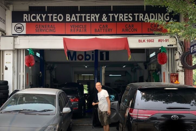 Ricky Teo Battery & Tyres Trading
