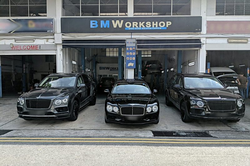 B m workshop