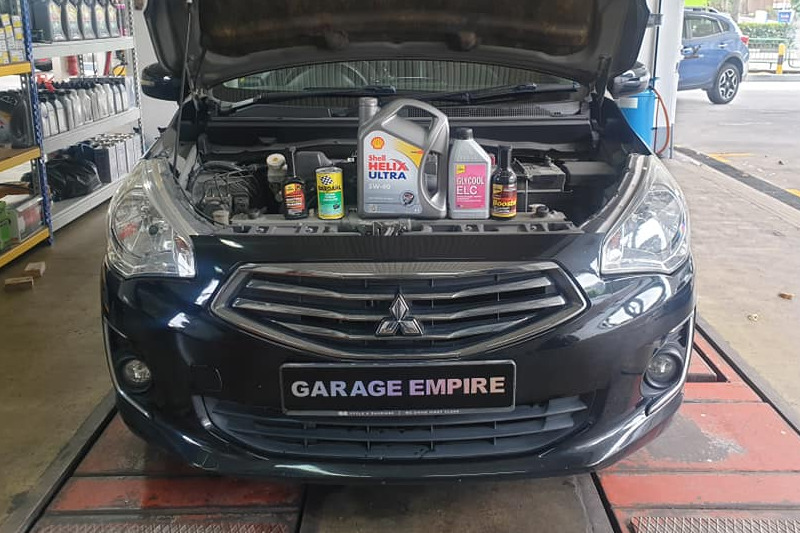 Car Servicing Package (Asian)