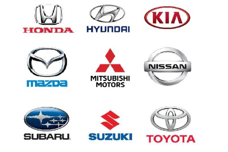 Asian car logo